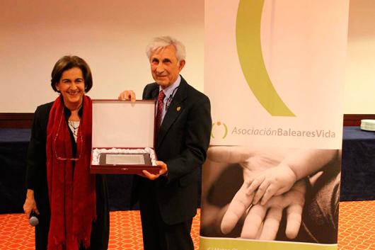 Entrega de premio BalearesVida 2013