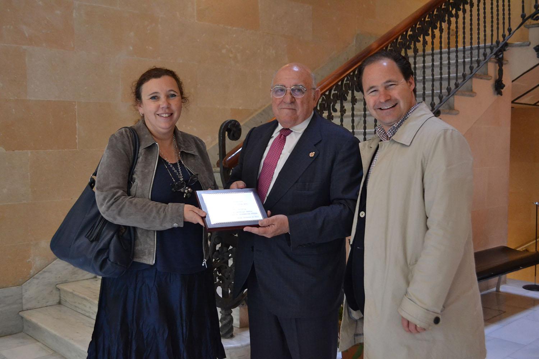 Entrega del premio Pro-Vida 2015 a Josep Mª Ventura de la Fundació Ordesa